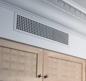 Как установить вентиляционную решетку для вентканала на кухне
