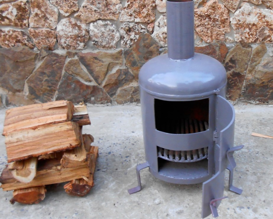 Печь для гаража своими руками на дровах: установка, размеры самодельной дровяной печки, как правильно сделать дымоход, эффективный обогрев с помощью буржуйки, чертежи