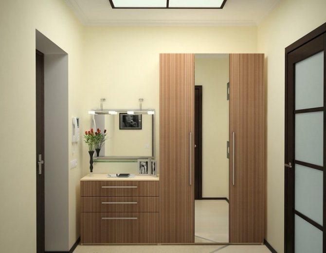 Современный дизайн прихожей: особенности, мебель - 75 фото