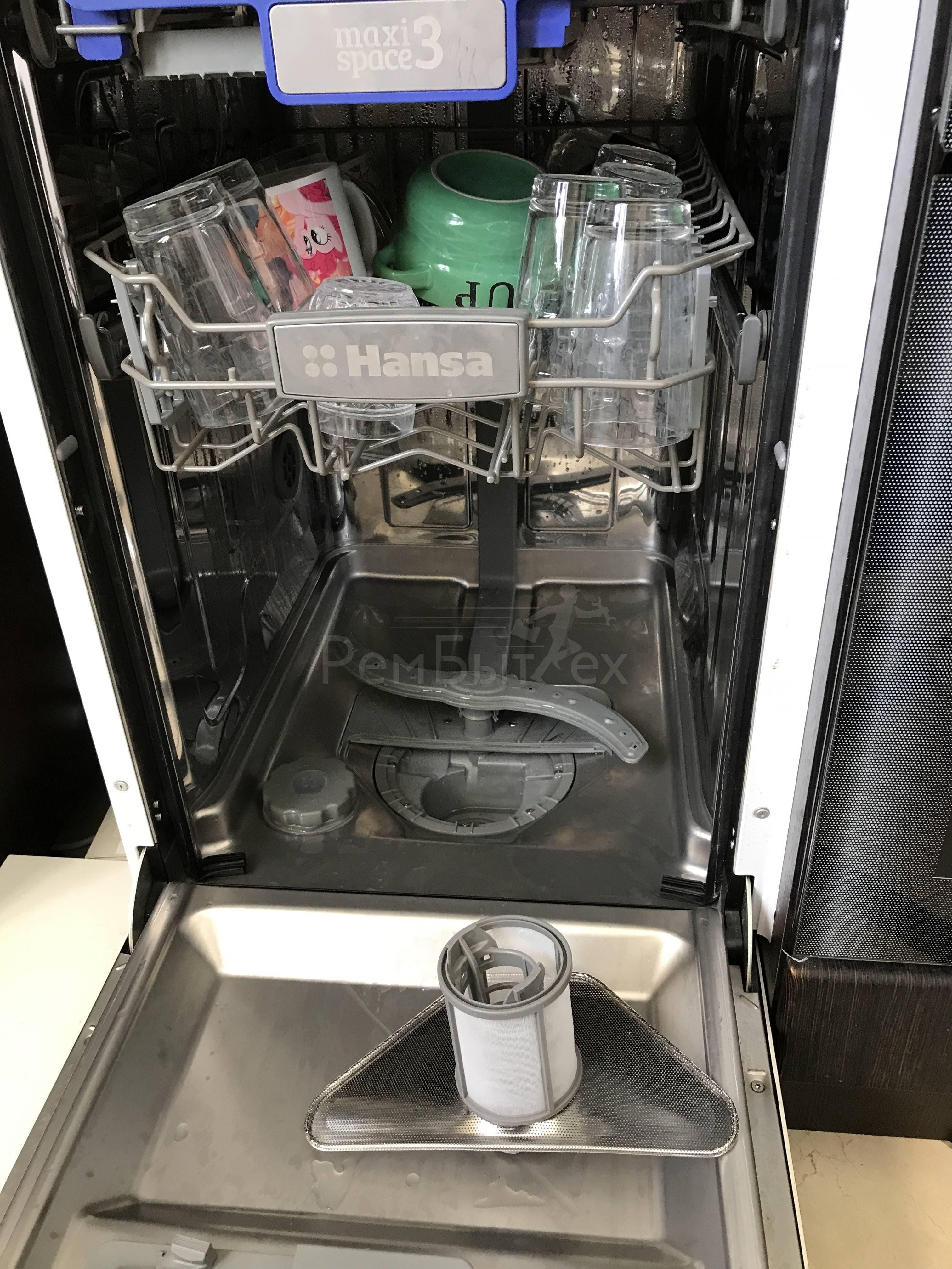 Белый налет на посуде после посудомоечной машины