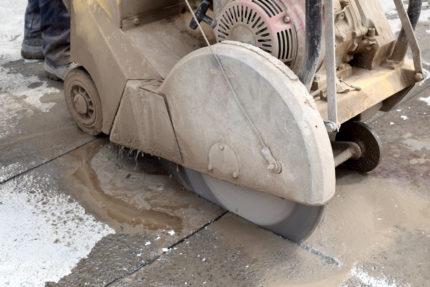 Как своими руками выполнить демонтаж бетонной стяжки пола