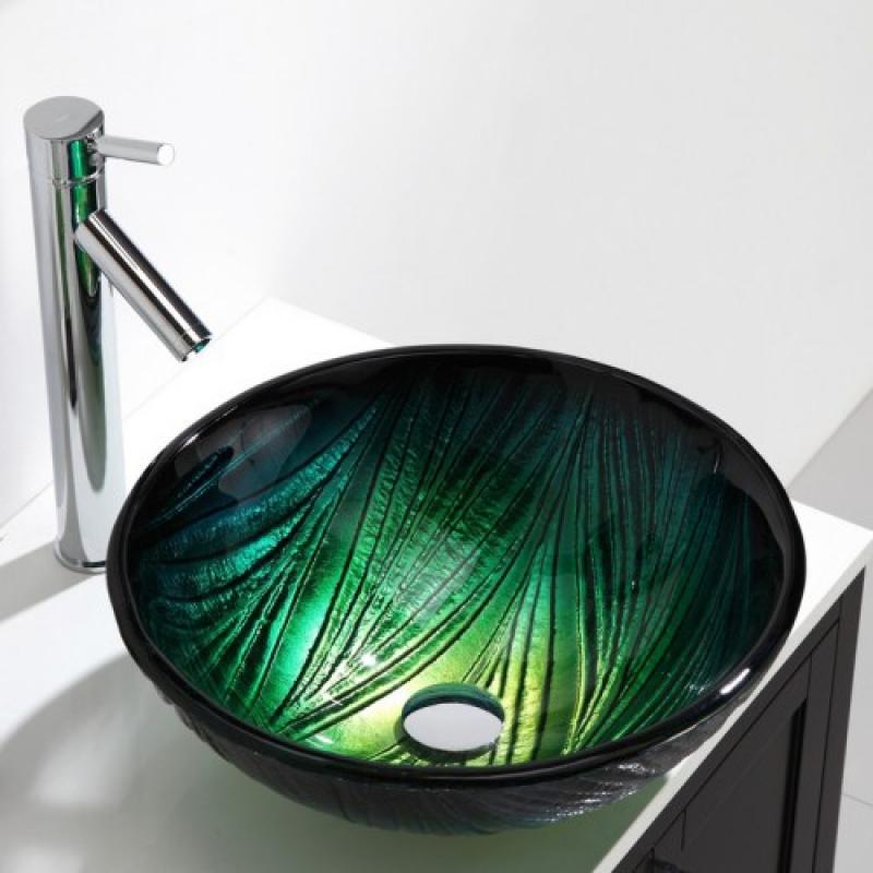 Стеклянные раковины для ванной комнаты: описание и отзывы