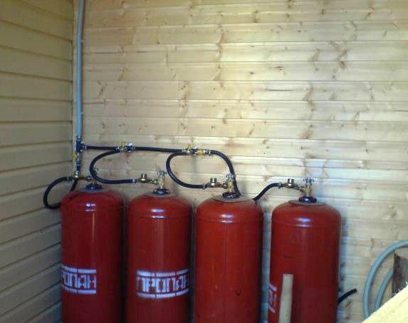 Отопление частного дома газовыми баллонами: котлы, расход, отзывы