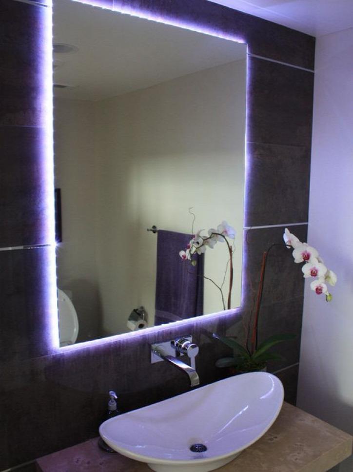 Как сделать подсветку в ванной комнате: как совместить дизайн и безопасность