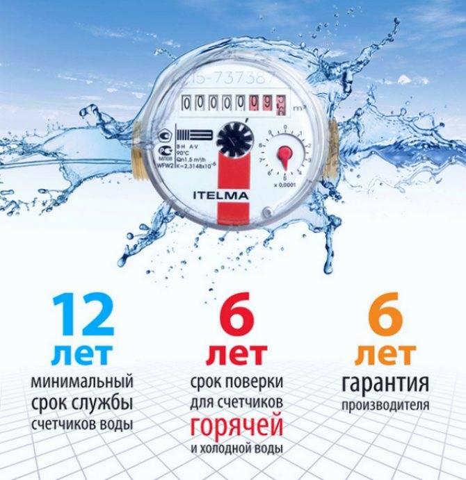 Сроки поверки счетчиков воды (холодной и горячей): что такое межповерочный интервал, как часто нужно делать проверку в квартирах?