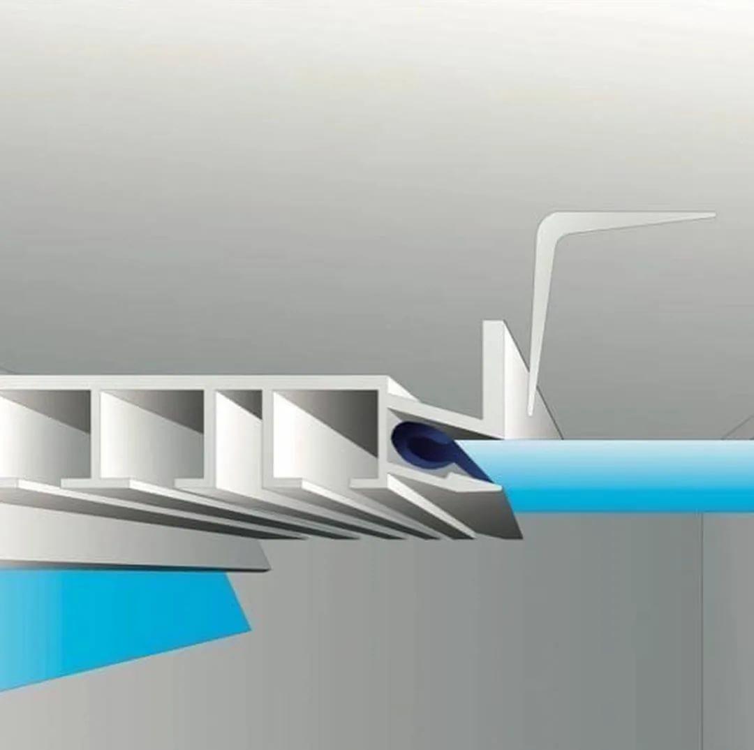 Вентиляция в натяжном потолке. различия в монтаже вентиляционных отверстий