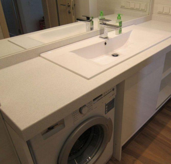 Раковина над стиральной машиной: преимущества и недостатки, раковина-кувшинка, установка умывальника и фото