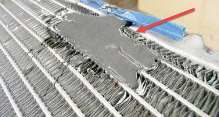 Пайка алюминиевого радиатора своими руками
