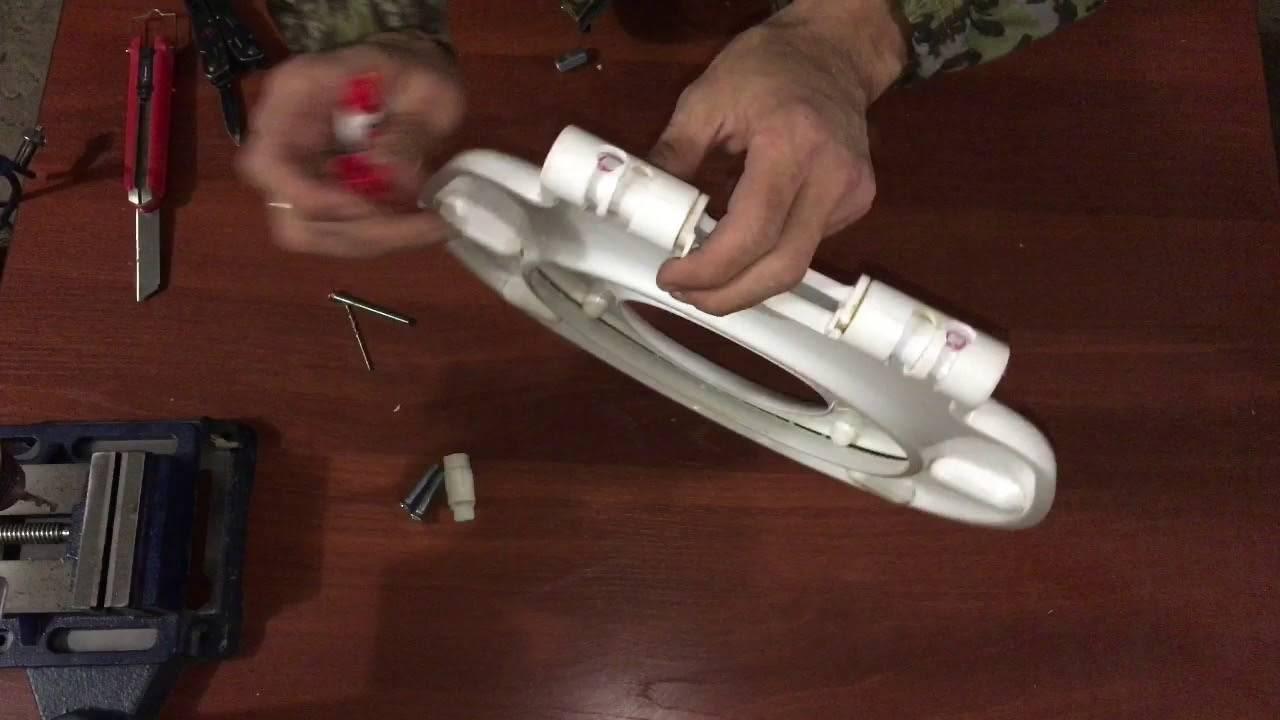Инструкция по ремонту микролифта крышки унитаза своими руками