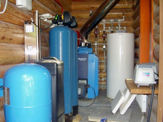 Схемы электроснабжения, водоснабжения и отопления в коттеджах, загородных домах на сайте недвио