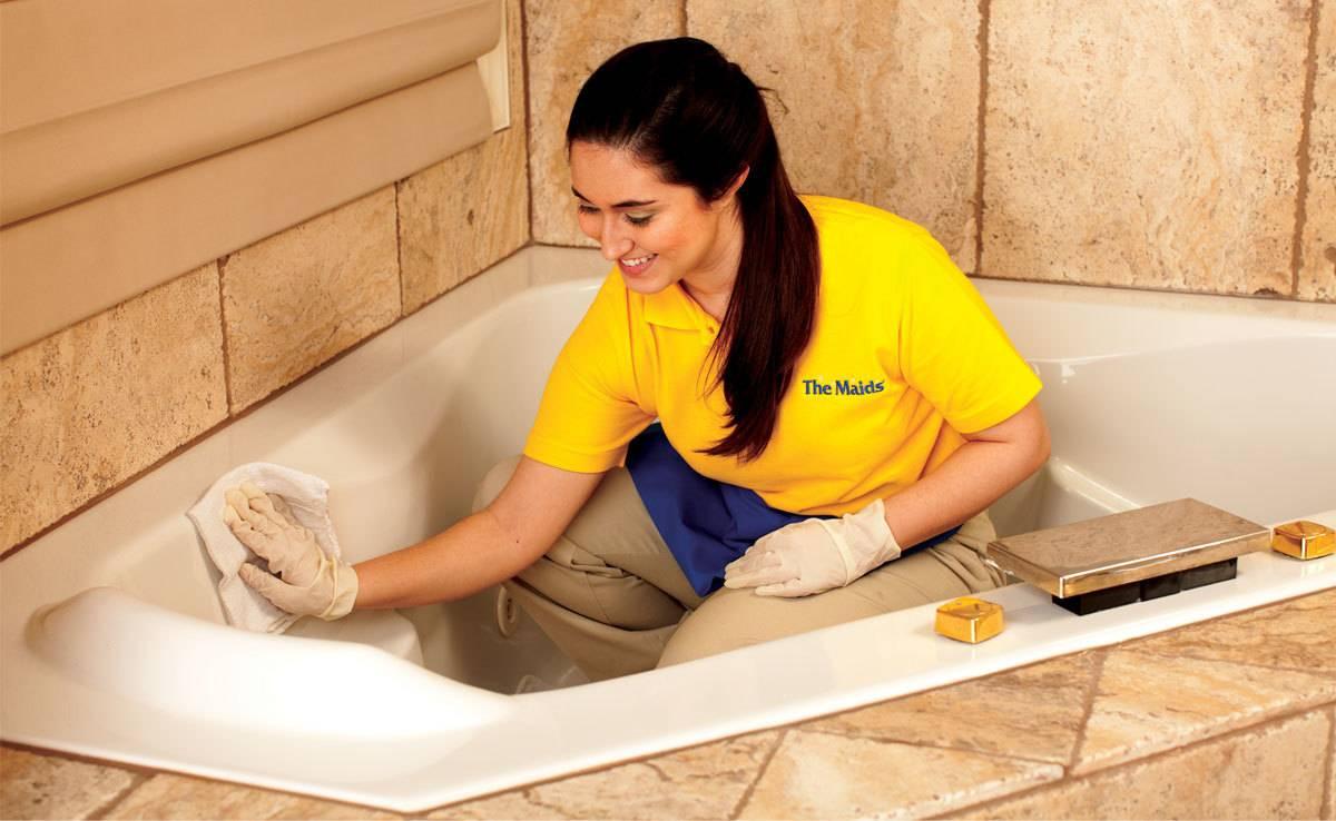 Чем и как отмыть ванну в домашних условиях -чистим и моим до бела