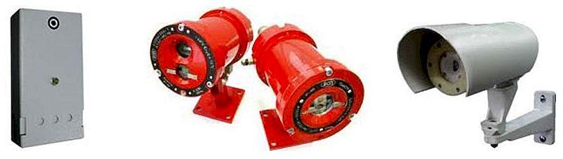 Классификация датчиков пламени (огня) для пожарной сигнализации
