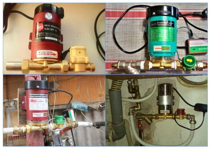 Насос для повышения давления воды: решение проблемы слабого напора
