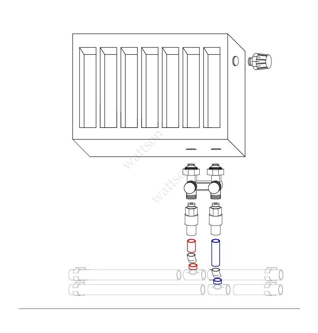 Как самостоятельно подключить радиатор отопления с нижней подводкой