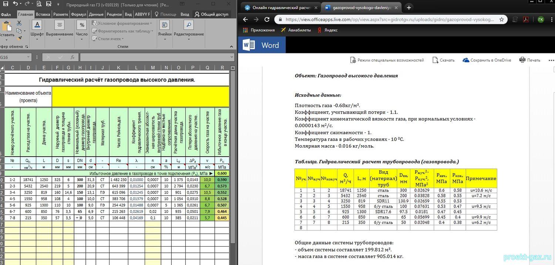Расчет параметров газопровода. дипломная (вкр). строительство. 2015-05-20