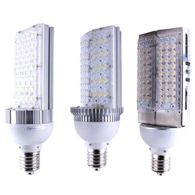 Светодиодные лампы с цоколем е40 принцип работы видео