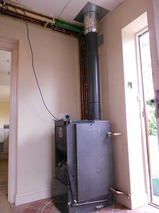 Установка твердотопливного котла, схема подключения к системе отопления в частном доме