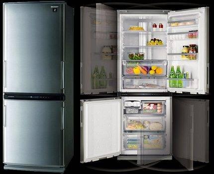 Холодильники sharp: обзор моделей