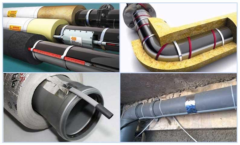 Как утеплить водопроводную трубу в земле: утепление труб водопровода, какой утеплитель выбрать, чем утеплить