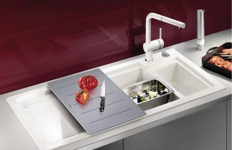 Керамическая мойка (раковина) для кухни: плюсы и минусы