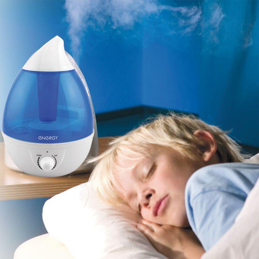 Использование увлажнителей воздуха при астме