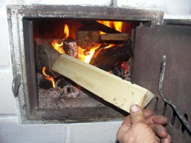 Как правильно топить печь дровами и углем, растопка, дрова для печи