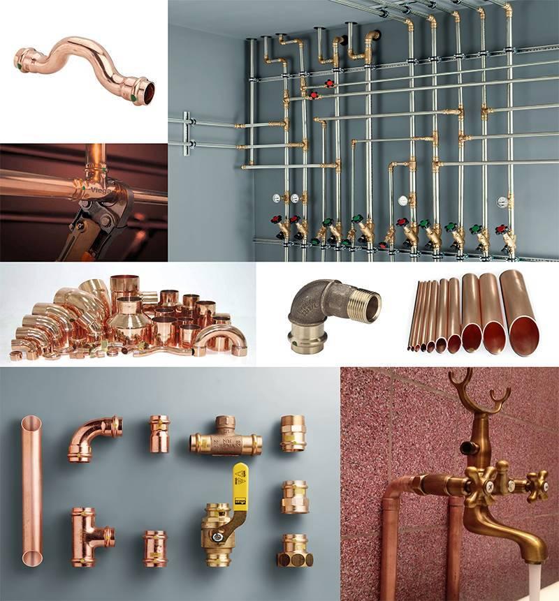 Медные трубы для водопровода: технические характеристики, преимущества и недостатки