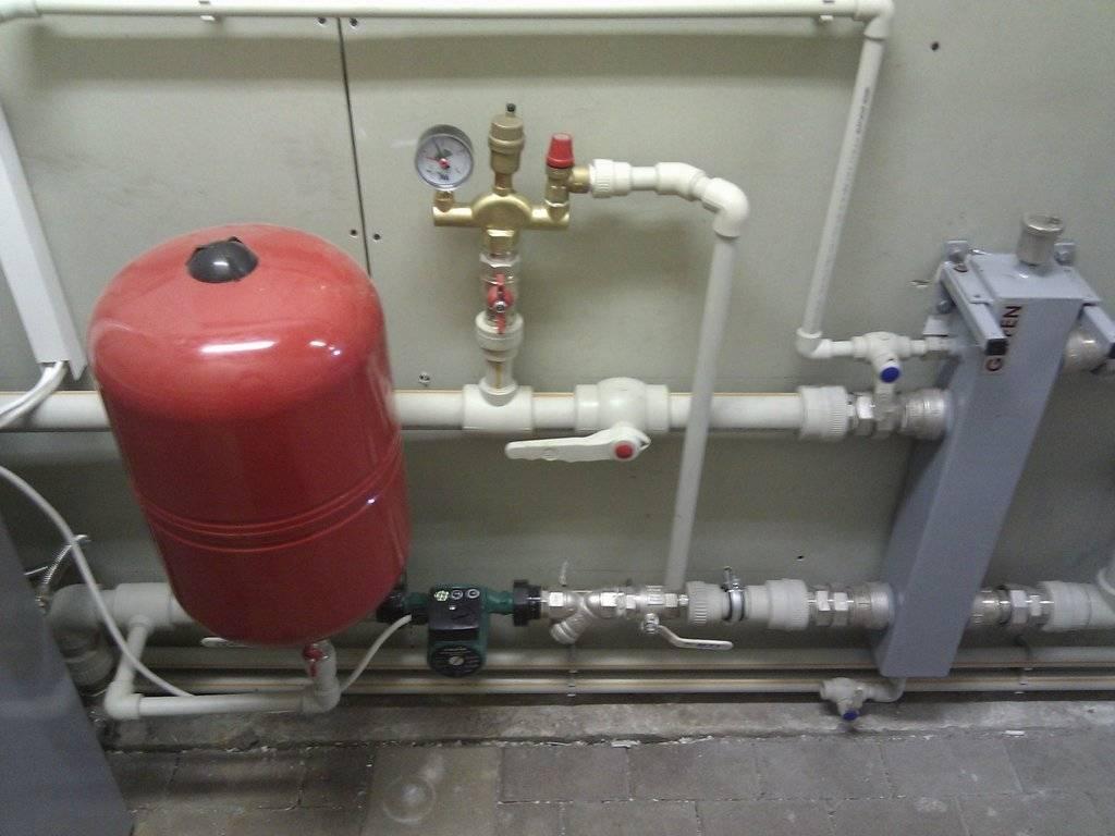 Группа безопасности на отопление — устройство, действие, выбор и монтаж