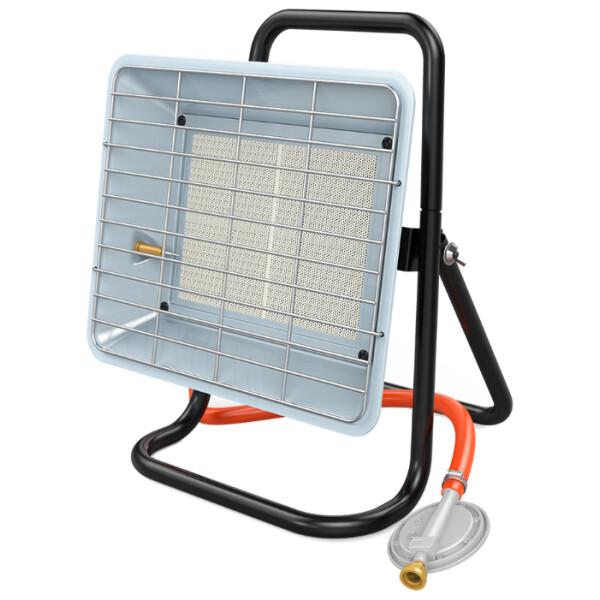 Методы отопления и обогрева гаража газовыми баллонами