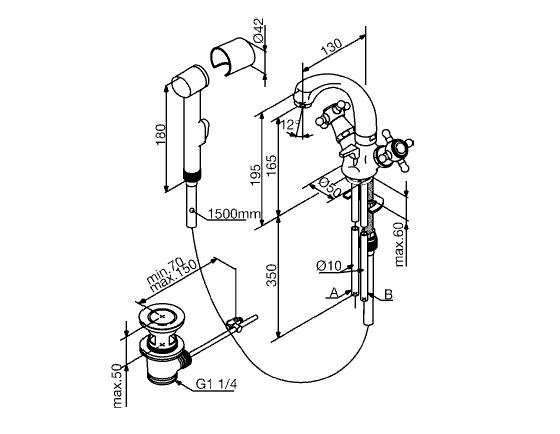 Смеситель для биде: инструкция по монтажу и подключению