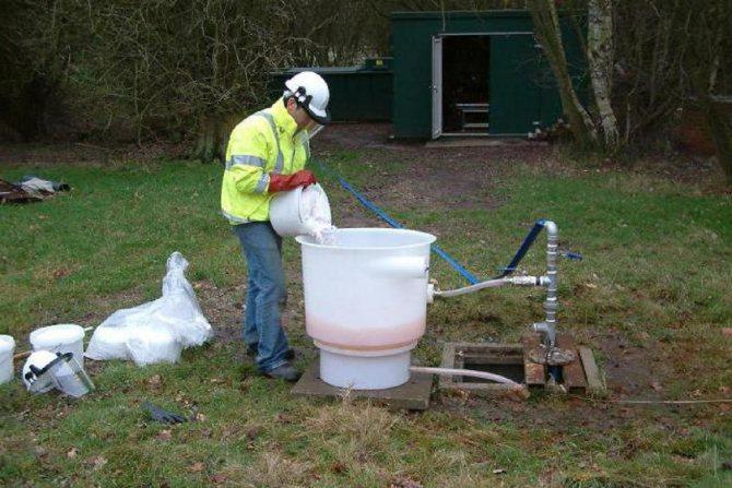 Методы очистки стенок и фильтров скважин