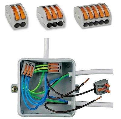 Соединители проводов: обзор популярных коннекторов + правила выбора соединителя