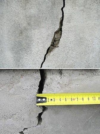 Ремонт трещин в бетоне: инъекции, гидроизоляция и заделка швов, затирка