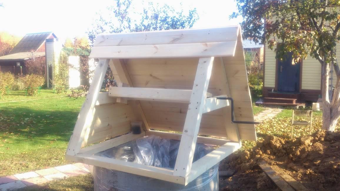 Оформление колодца (51 фото): отделка и обустройство на даче своими руками, дизайн конструкций из бетонных колец