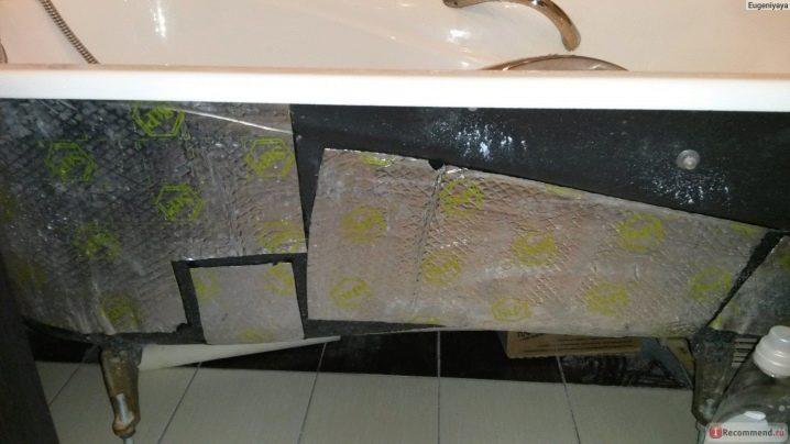 Звукоизоляция стены в ванной: какие влагостойкие материалы используются для утепления стояка в ванной комнате, чем можно отделать потолок, стены и подл под плитку