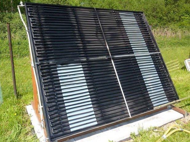 Солнечный воздушный коллектор своими руками - пошаговая инструкция!