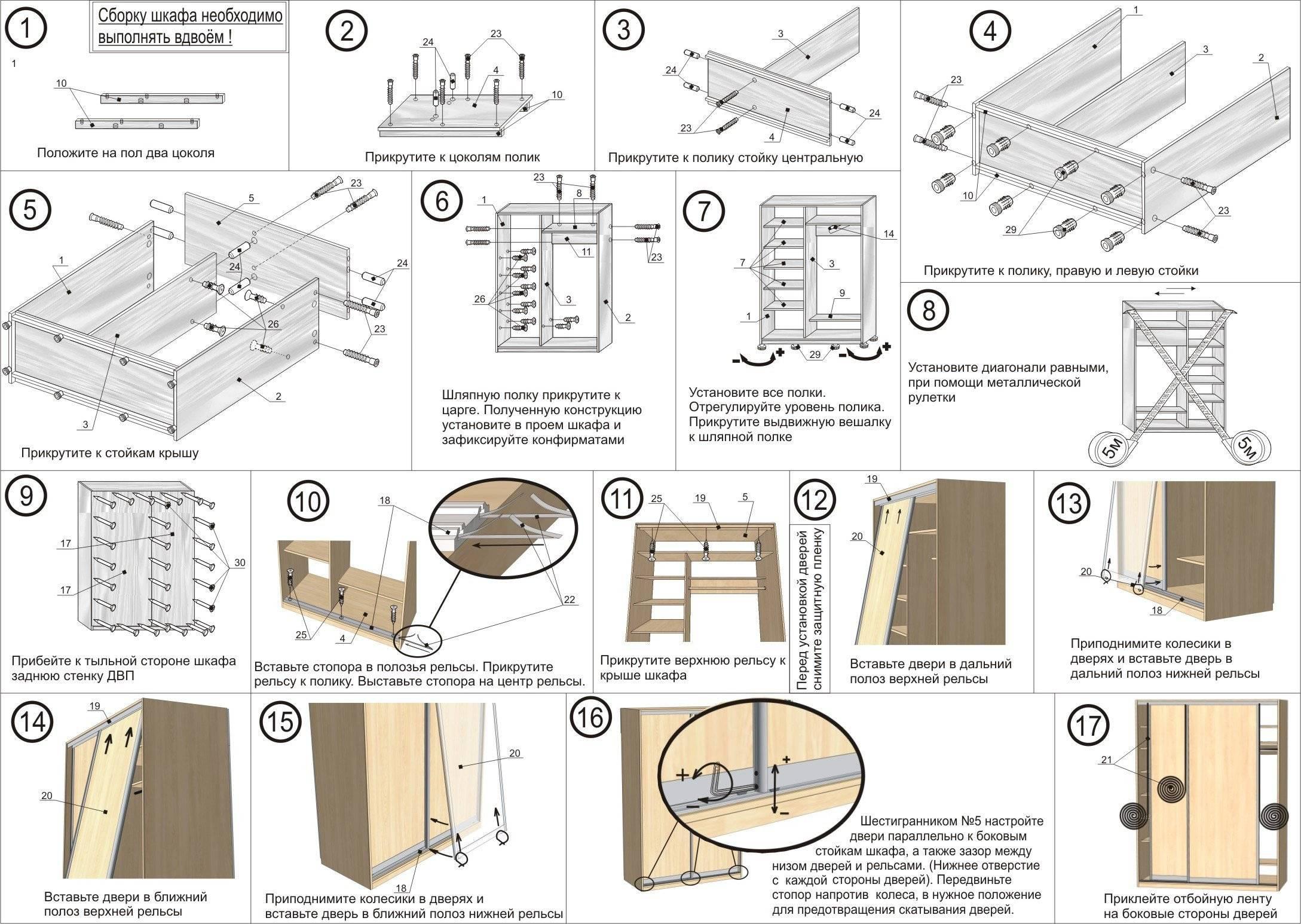Как красиво сделать шкаф на балкон (лоджию) своими руками: инструкция с фото