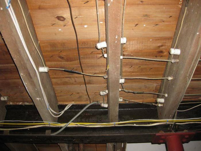 Проводка в деревянном доме своими руками: схема, разводка электрики, правила монтажа