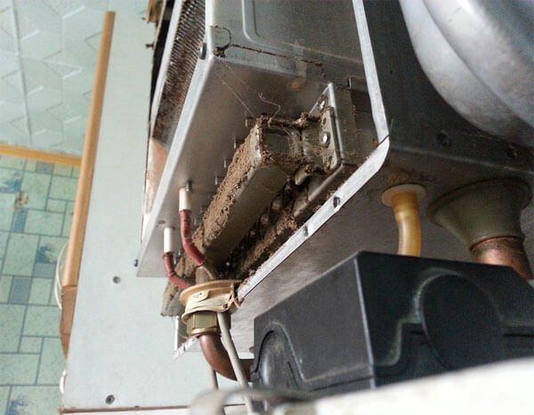 Ремонт газового котла отопления своими руками инструкция