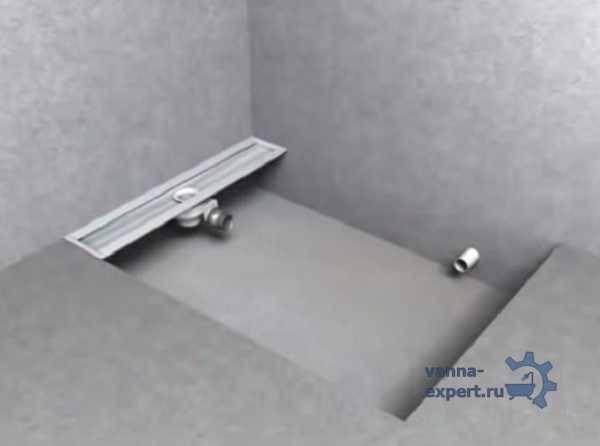 Трап для душа в полу под плитку: разновидности и особенности самостоятельного монтажа