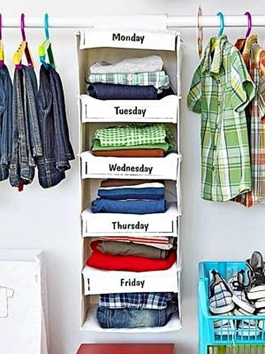 5 секретов компактного и удобного размещения вещей в шкафу
