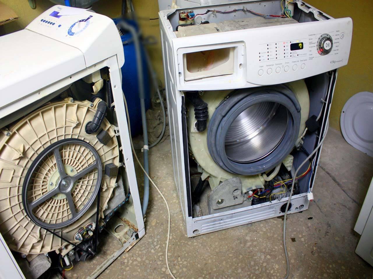 Как починить дверцу стиральной машины своими руками: советы по ремонту