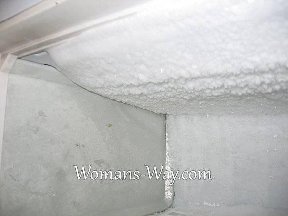Холодильник атлант no frost: в морозильной камере образуется лед
