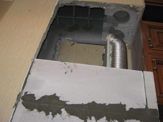 Вентиляционный короб на кухне: демонтаж, восстановление, дизайн