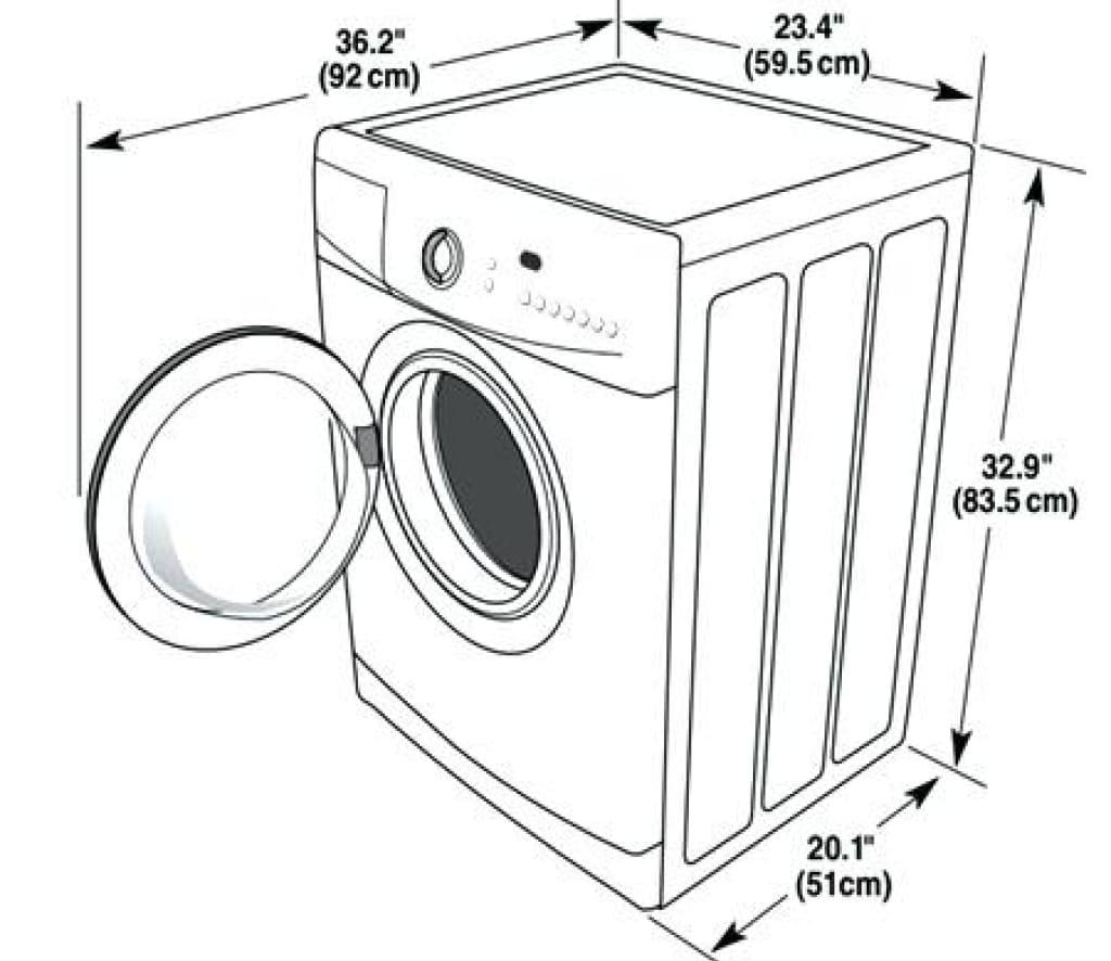 Стиральная машина размеры, фото / модель автоматов для белья