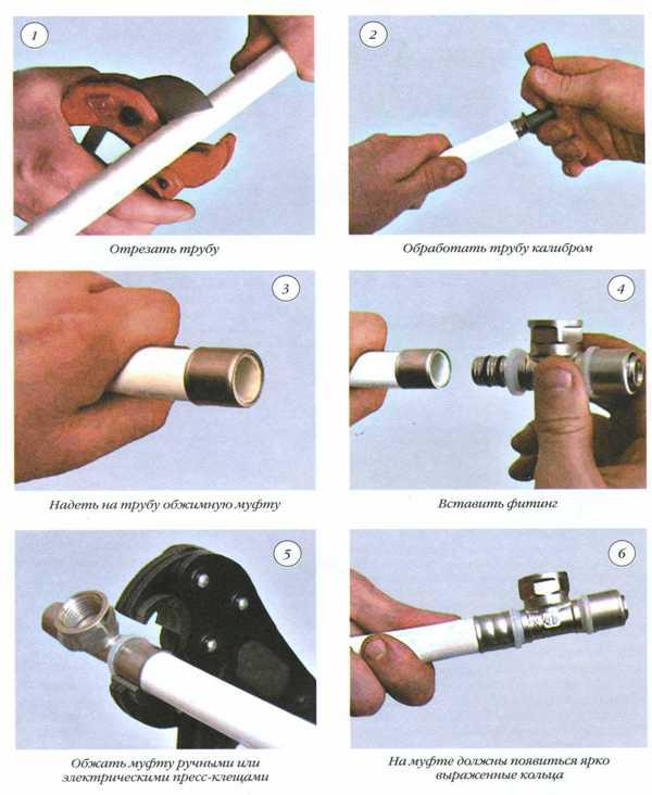 Монтаж металлопластиковых труб своими руками: видео