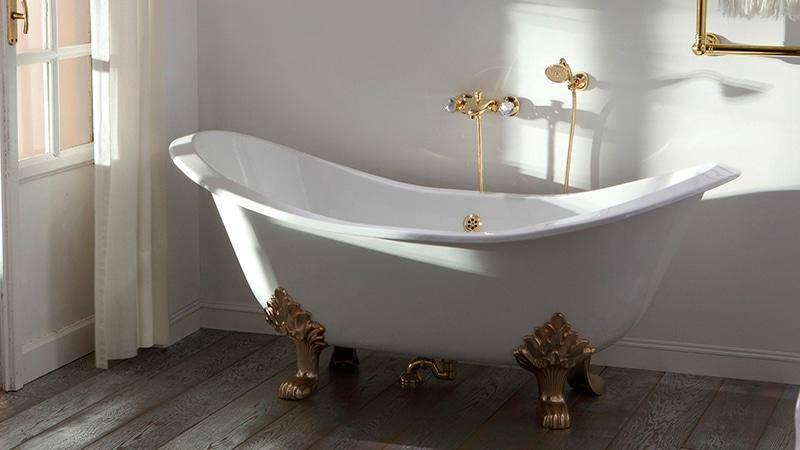 Какая ванна лучше чугунная, акриловая или стальная?