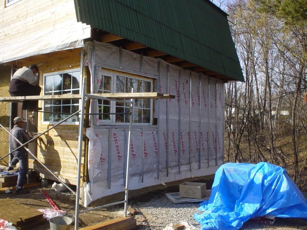Можно ли утеплять деревянный дом пенопластом снаружи и внутри