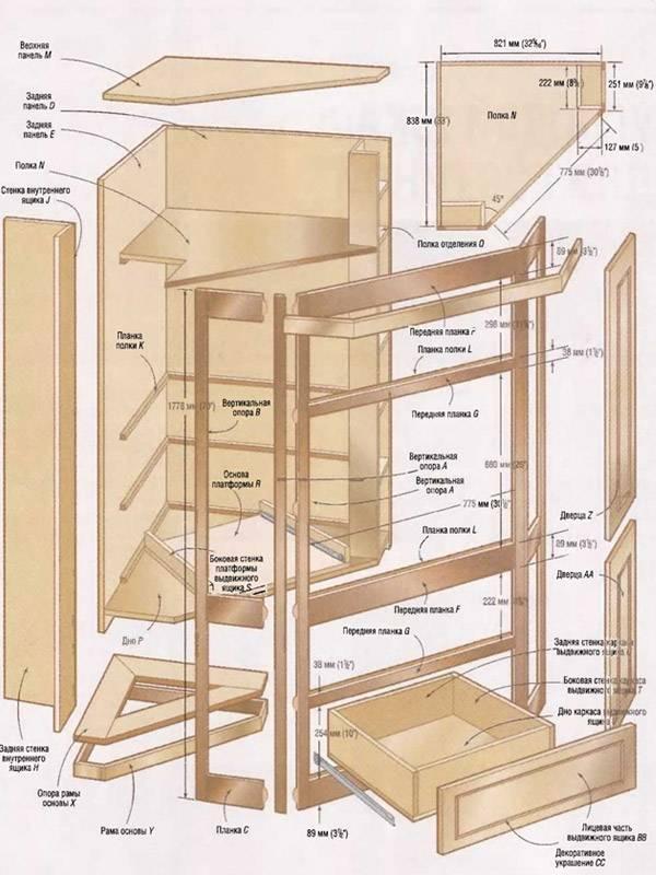 Шкаф на балконе своими руками: от идеи к воплощению