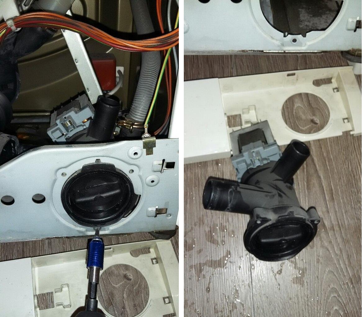 Сливной насос для стиральной машины: строение, виды и функции